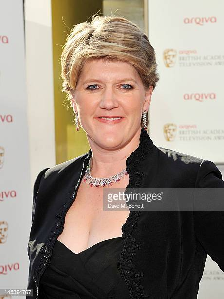 Clare Balding arrives at the Arqiva British Academy Television Awards 2012 at Royal Festival Hall on May 27 2012 in London England