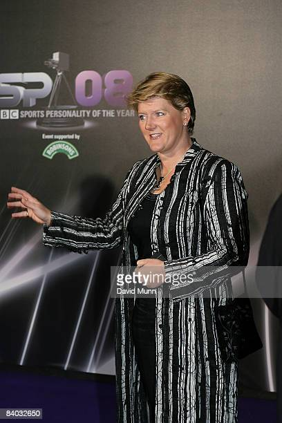 Clare Balding arrives for the BBC Sports Personality of the Year awards at the Liverpool Echo Arena on December 14 2008 in Liverpool England