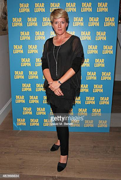 Clare Balding attends an after party following the press night performance of 'Dear Lupin' at the Ham Yard Hotel on August 3 2015 in London England