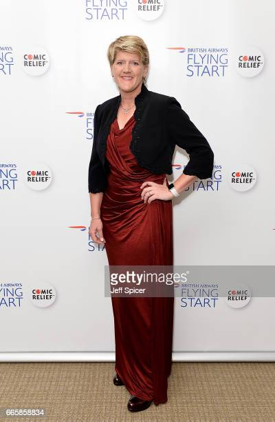 Clare Balding attends British Airways' Flying Start Ball at The Grove on April 7 2017 in Hertfordshire United Kingdom The event has raised nearly a...