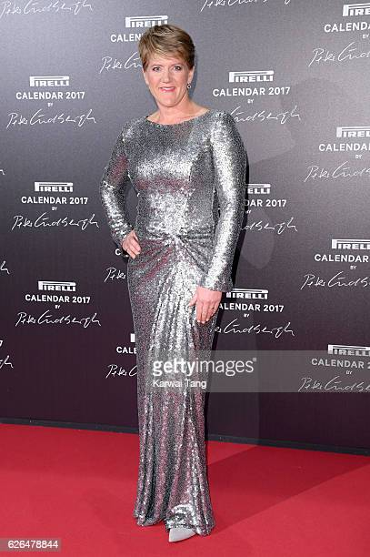 Clare Balding attends the 2017 Pirelli Calendar Gala Dinner at La Cite Du Cinema on November 29 2016 in SaintDenis France