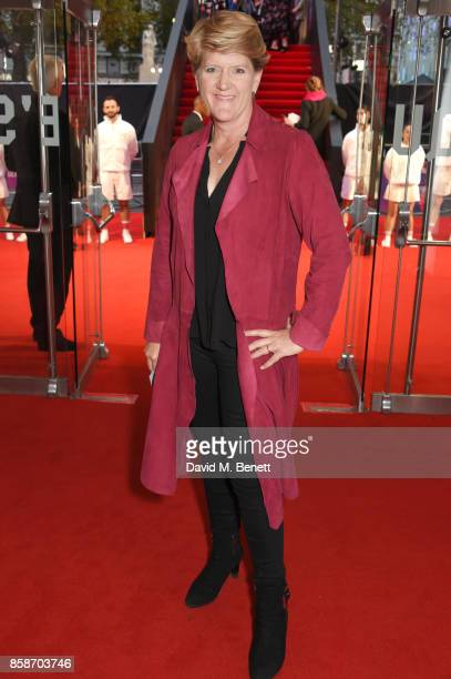 Clare Balding attends the American Express Gala European Premiere of 'Battle of the Sexes' during the 61st BFI London Film Festival at Odeon...