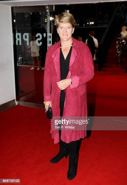 Clare Balding attends the American Express Gala European Premiere of 'Battle of the Sexes' during the 61st BFI London Film Festival on October 7 2017...