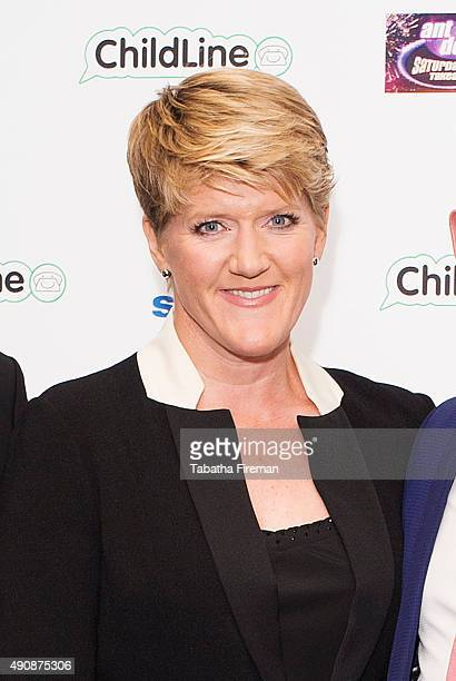 Clare Balding attends the Childline Ball at Old Billingsgate Market on October 1 2015 in London England