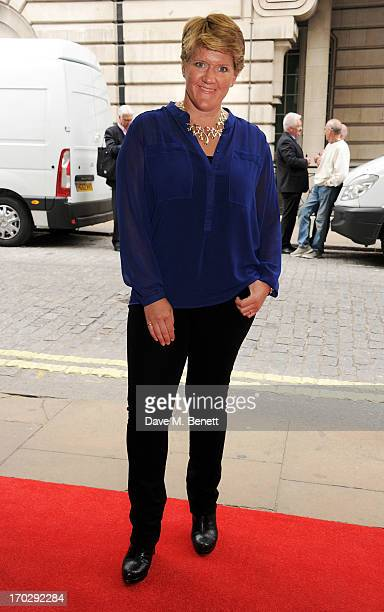 Clare Balding attends the gala screening of 'Summer In February' at The Curzon Mayfair on June 10 2013 in London England