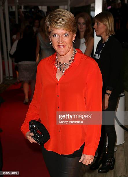 Clare Balding attends the Glamour Women of the Year Awards at Berkeley Square Gardens on June 3 2014 in London England