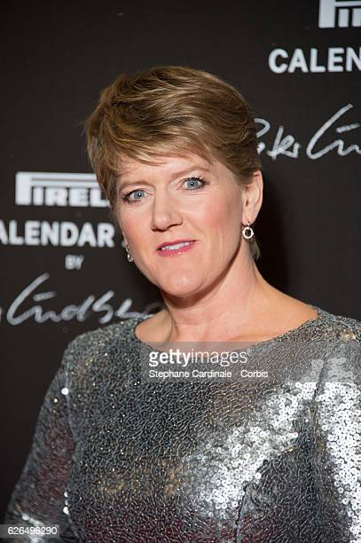 Clare Balding attends the 'Pirelli Calendar 2017 by Peter Lindberg' Photocall at La Cite Du Cinema on November 29 2016 in SaintDenis France
