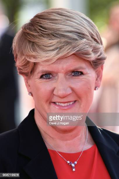 Clare Balding attends the Virgin TV British Academy Television Awards at The Royal Festival Hall on May 13 2018 in London England