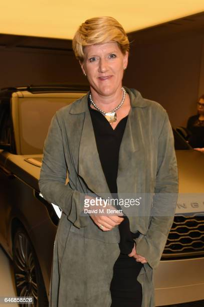Clare Balding attends the world premiere launch of the new Range Rover Velar at Design Museum on March 1 2017 in London England