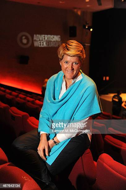Clare Balding Broadcaster during Advertising Week Europe Picadilly on March 26 2015 in London England