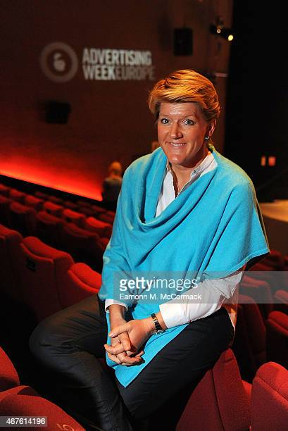 Clare Balding Broadcaster speaks during Women In Media And Sports What Rules Are Left To Be Broken as part of Advertising Week Europe Piccadilly on...
