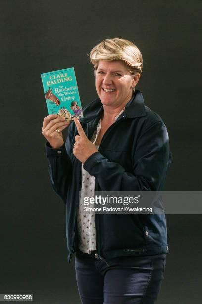 Clare Balding during the Edinburgh International Book Festival on August 13 2017 in Edinburgh Scotland