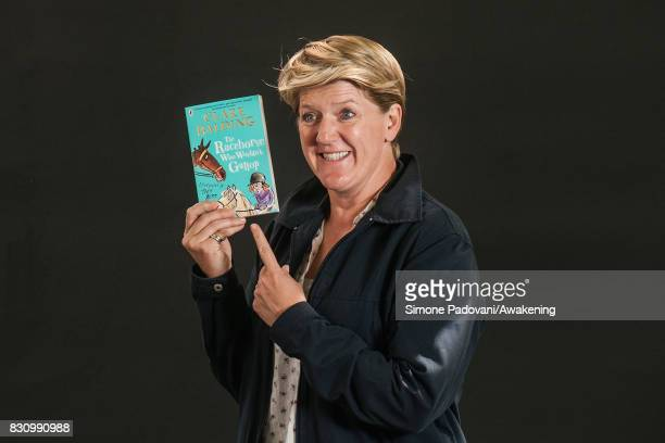 Clare Balding during the Edinburgh International Book Festival on August 13 2017 in Edinburgh Scotland