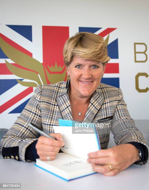 Clare Balding during the QIPCO British Champions Day at Ascot Racecourse on October 21 2017 in Ascot United Kingdom