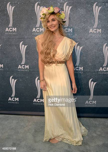 Clare Bowen attends the 8th Annual ACM Honors at Ryman Auditorium on September 9 2014 in Nashville Tennessee