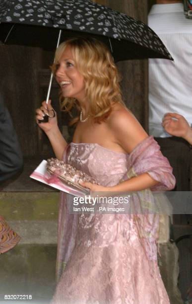 Clare Buckfield at the wedding of Ant McParlin and Lisa Armstrong at StNicholas Church in Taplow Buckinghamshire Picture date Saturday July 22 2006...