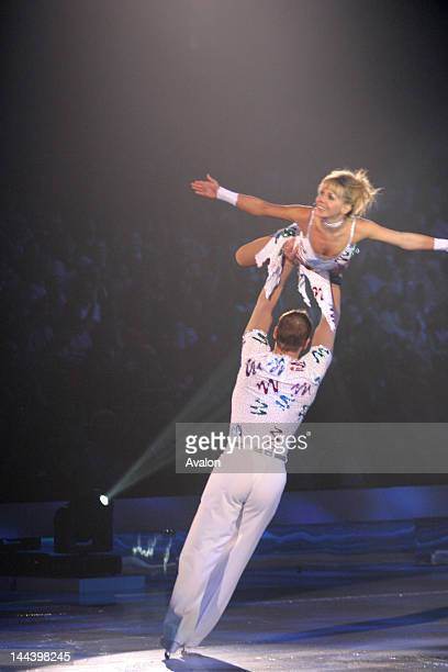 Clare Buckfield performing at the Dancing On Ice tour at the NIA in Birmingham 31st March 2007 Job 20891 Ref IYS