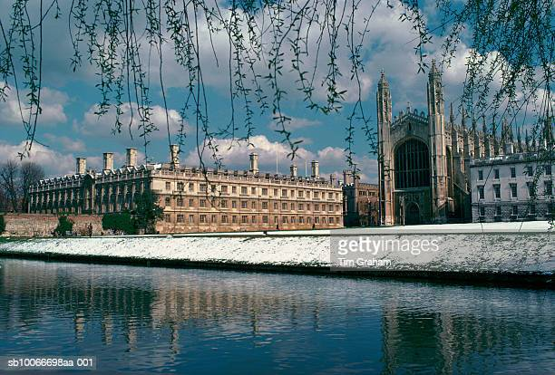 Clare College and Kings College Chapel, Cambridge, England