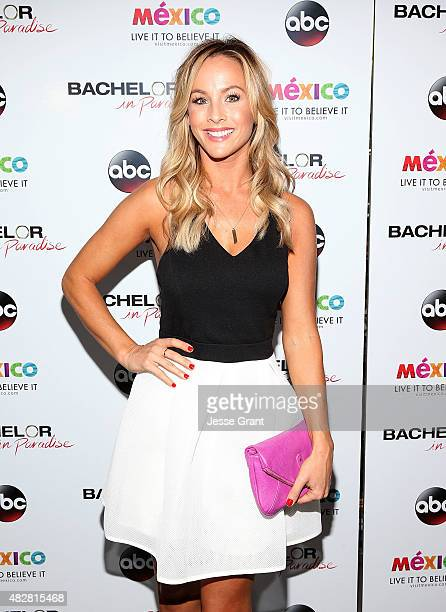 "Clare Crawley attends the ""Bachelor In Paradise"" Returns To Mexico For Season 2 Premiere Party at Mixology101 on August 2, 2015 in Los Angeles,..."