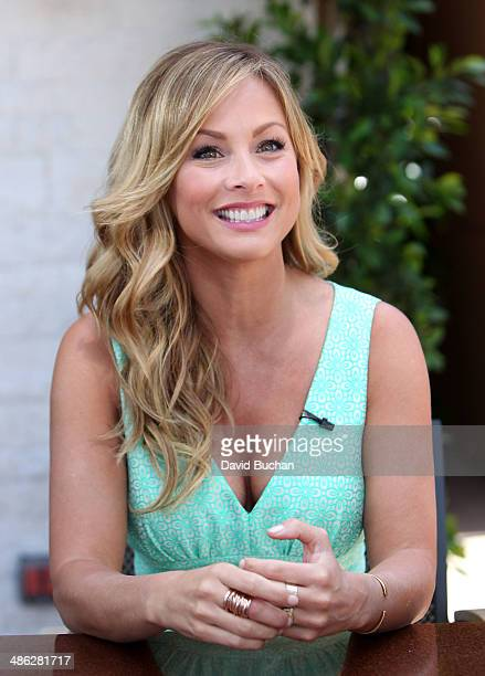 Clare Crawley Visits EXTRA at Westfield Century City on April 16, 2014 in Los Angeles, California.