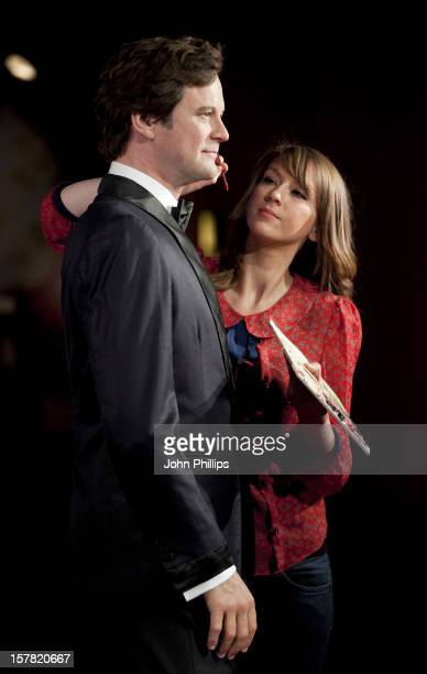 Clare Galvin Puts The Finishing Touches To Colin Firth'S Wax Figure Which Has Been Unveiled At Madame Tussauds In London