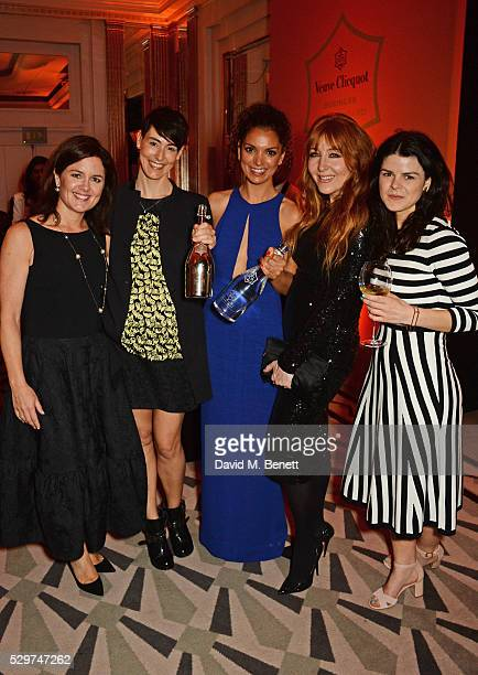 Clare Gilmartin Sarah Wood winner of the 2016 Veuve Clicquot Business Women Award Cassandra Stavrou winner of the 2016 Veuve Clicquot New Generation...
