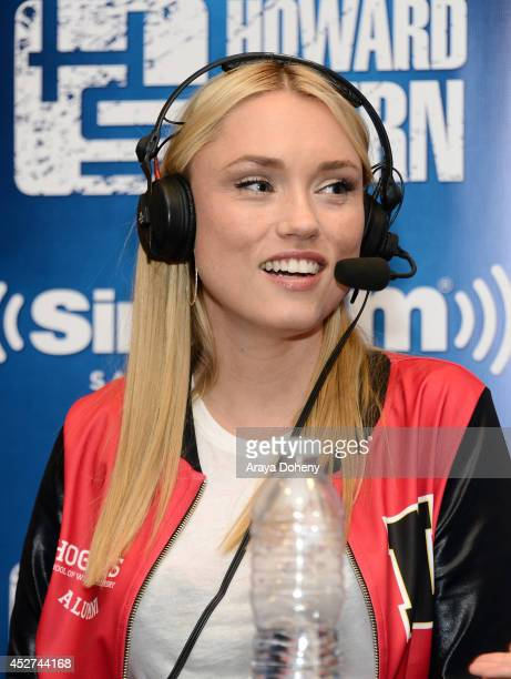 Clare Grant of Team Unicorn attends Howard Stern's 'Geektime' Live Broadcast from Comic-Con 2014 at Hilton Bayfront on July 26, 2014 in San Diego,...