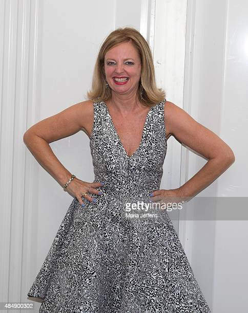Clare Grogan of Altered Images photo call at Temple Island Meadows on August 22 2015 in HenleyonThames England