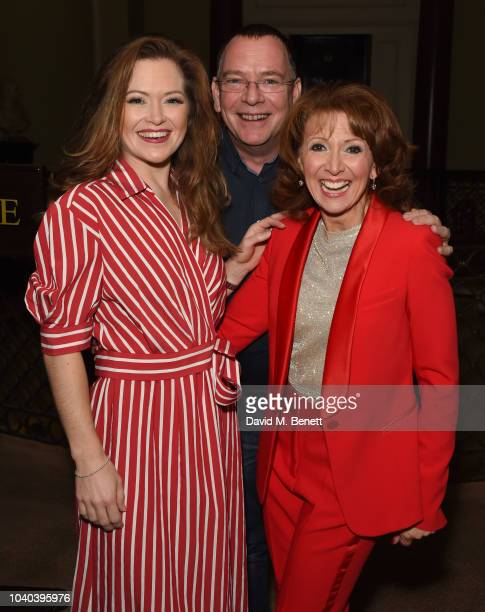 Clare Halse Adam Woodyatt and Bonnie Langford attend as Bonnie Langford joins the cast of '42nd Street' at the Theatre Royal Drury Lane on September...