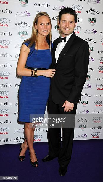 Clare Harding and Tom Chambers attend the 5 Stars Scanner Appeal on June 1, 2009 in Sutton Coldfield, United kingdom.