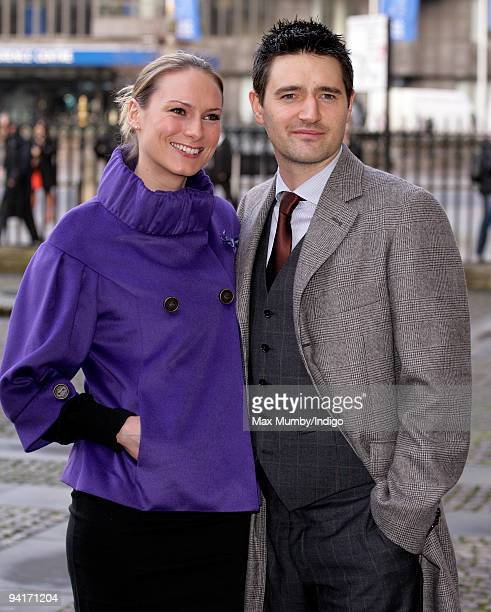 Clare Harding and Tom Chambers attend the Woman's Own Children Of Courage Awards at Westminster Abbey on December 9, 2009 in London, England.