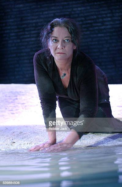 Clare Higgins in Stage Production of Hecuba
