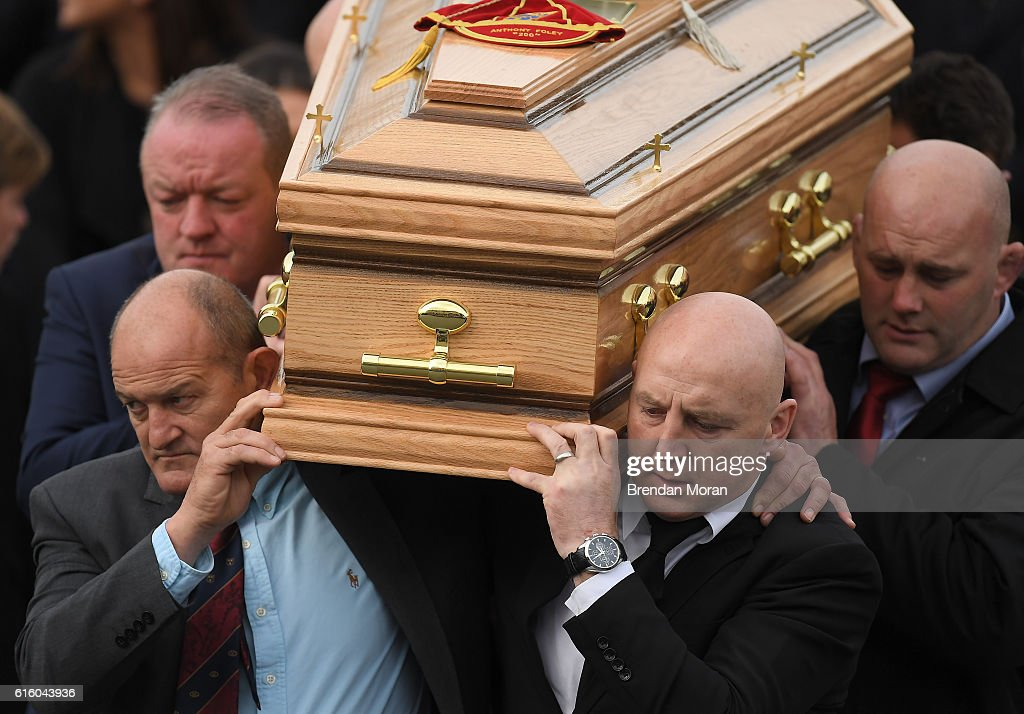 Funeral of Munster Rugby Head Coach Anthony Foley