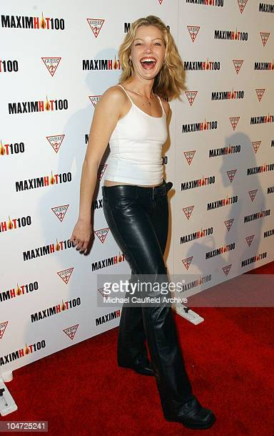 Clare Kramer during Maxim Hot 100 Party Arrivals at Yamashiro in Hollywood California United States
