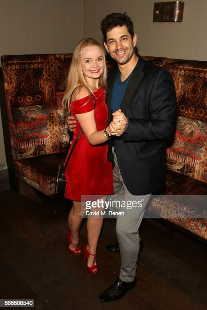 Clare Louise Connolly and Adam Garcia attend the press night after party for 'The Exorcist' at 100 Wardour St on October 31 2017 in London England