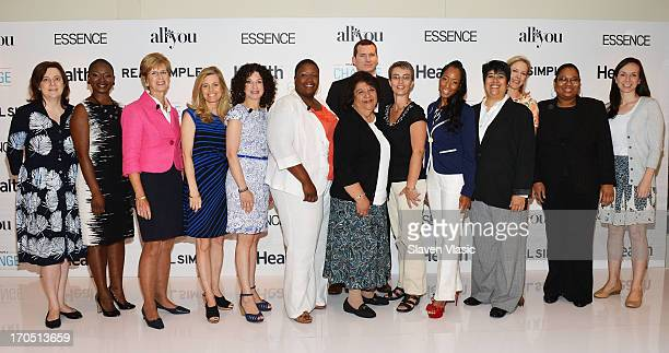 Clare McHugh Vanessa Bush Essence magazine editorinchief Former NJ Governer Christine Todd Whitman journalist Kelly Wallace author Dr Gail Saltz...