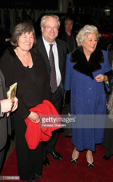 Clare Short Chris Smith and Betty Boothroyd during An Evening for Mo and Friends to Remember Mo Mowlam November 20 2005 at Theatre Royal in London...