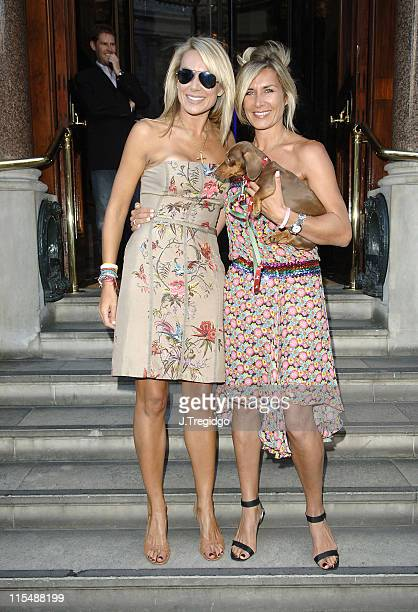 Clare Staples and Kate Staples during Clare Staples' Everything I Know About Men I Learnt From My Dog Book Launch Party Arrivals at 50 St James's...