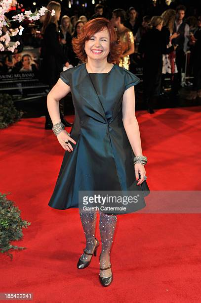 Clare Stewart attends the Closing Night Gala European Premiere of Saving Mr Banks during the 57th BFI London Film Festival at Odeon Leicester Square...
