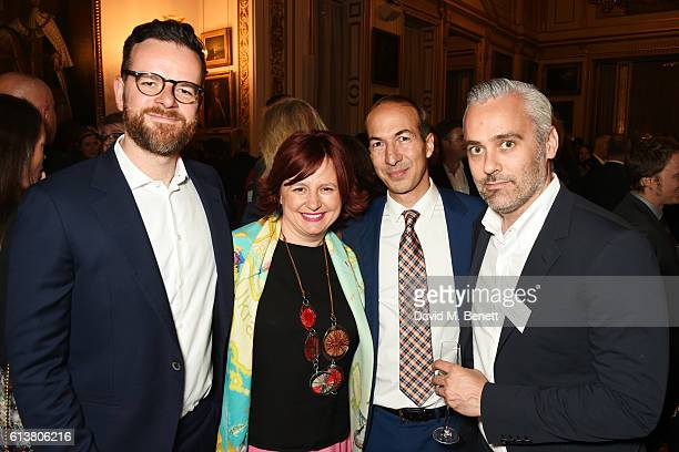 Clare Stewart Director of the BFI London Film Festival and Iain Canning attend the Academy of Motion Picture Arts and Sciences new members reception...