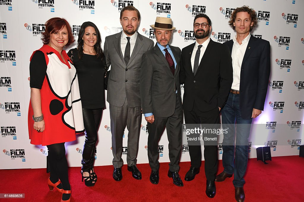 'Before The Flood' - 60th BFI London Film Festival - VIP Arrivals