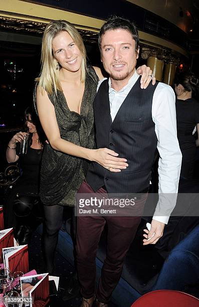 Clare Strowger and Darren Strowger attend The Hoping Variety Show A Benefit Evening For Palestinian Refugee Children at Cafe de Paris on November 21...