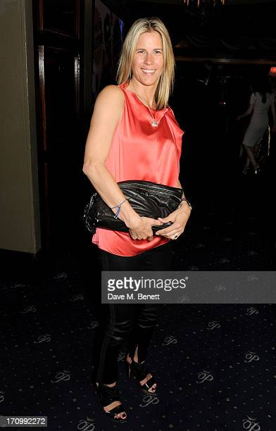 Clare Strowger attends The Hoping Foundation's 'Rock On' a benefit evening for Palestinian refugee children at Cafe de Paris on June 20 2013 in...