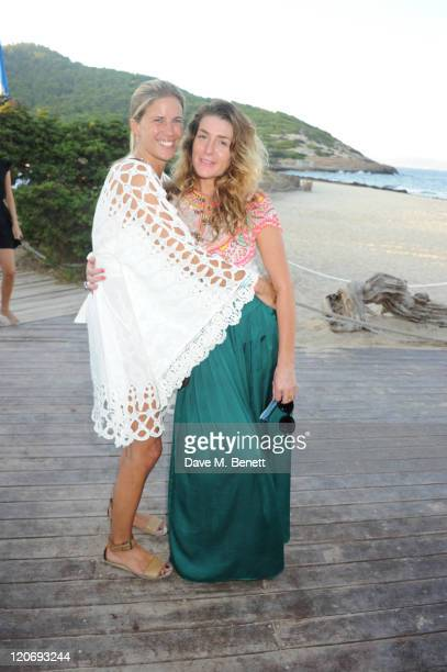 Clare Strowger attends the Teenage Cancer Trust party and auction at El Chiringuito in Es Cavellet on August 07 2011 in Ibiza Spain Pic Credit Dave...