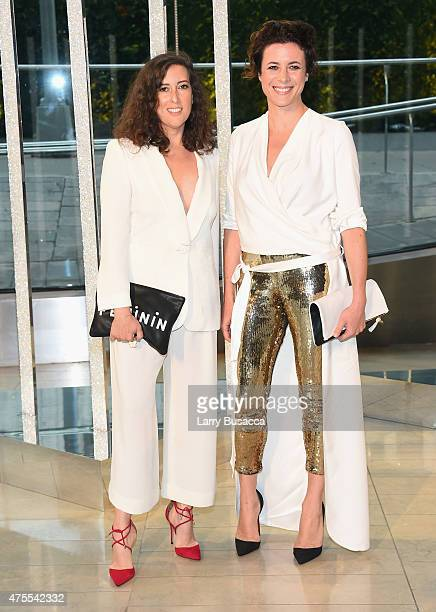 Clare Vivier and Garance Doré attends the 2015 CFDA Fashion Awards at Alice Tully Hall at Lincoln Center on June 1 2015 in New York City