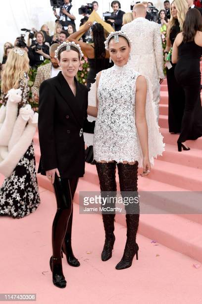 Clare Waight Keller and Gal Gadot attend The 2019 Met Gala Celebrating Camp Notes on Fashion at Metropolitan Museum of Art on May 06 2019 in New York...