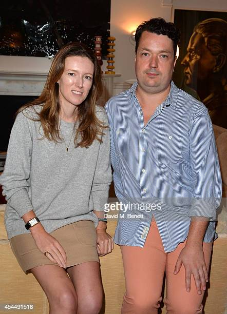 Clare Waight Keller, Chloe Creative Director and Joe Scotland, Studio Voltaire's Director attend the Chloe and House of Voltaire partnership...