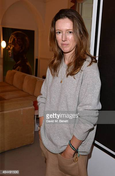 Clare Waight Keller Chloe Creative Director attends the Chloe and House of Voltaire partnership announcement on September 2 2014 in London England