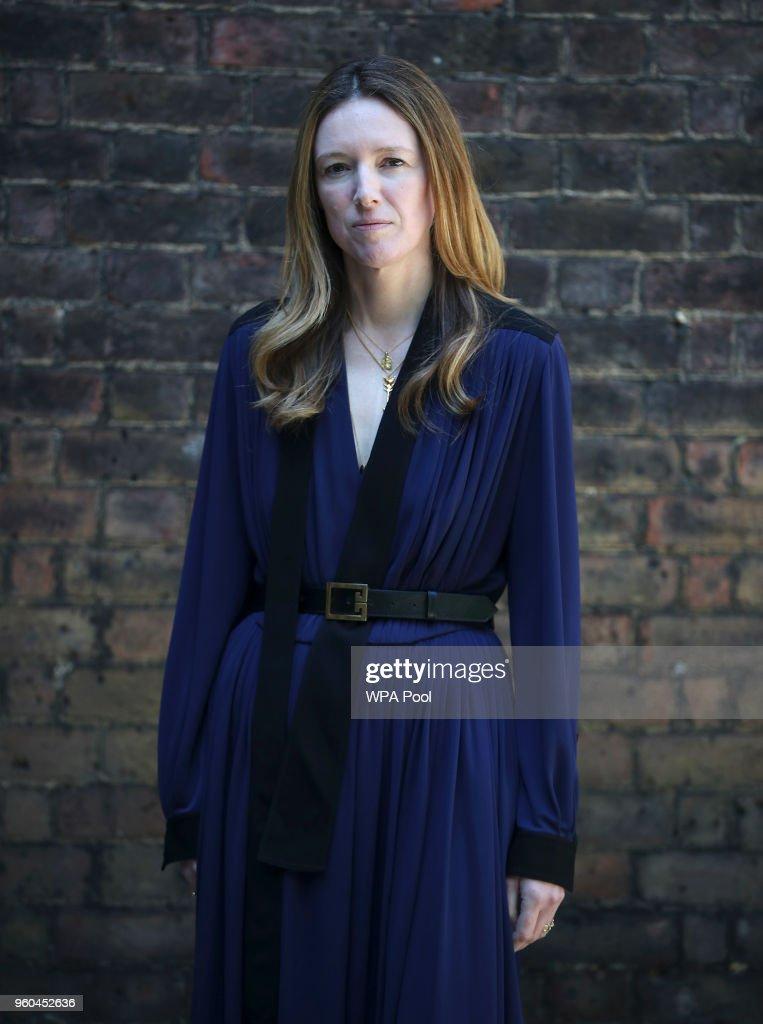 Royal Wedding Dress Designer And Hairdresser Give Interviews : News Photo