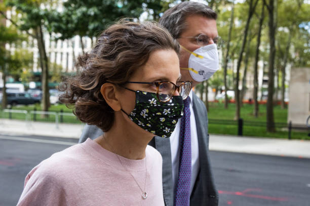 NY: Seagram Heiress Clare Bronfman Sentencing In Alleged New York Sex Cult